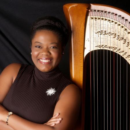 Winifred Garrett, Harpist
